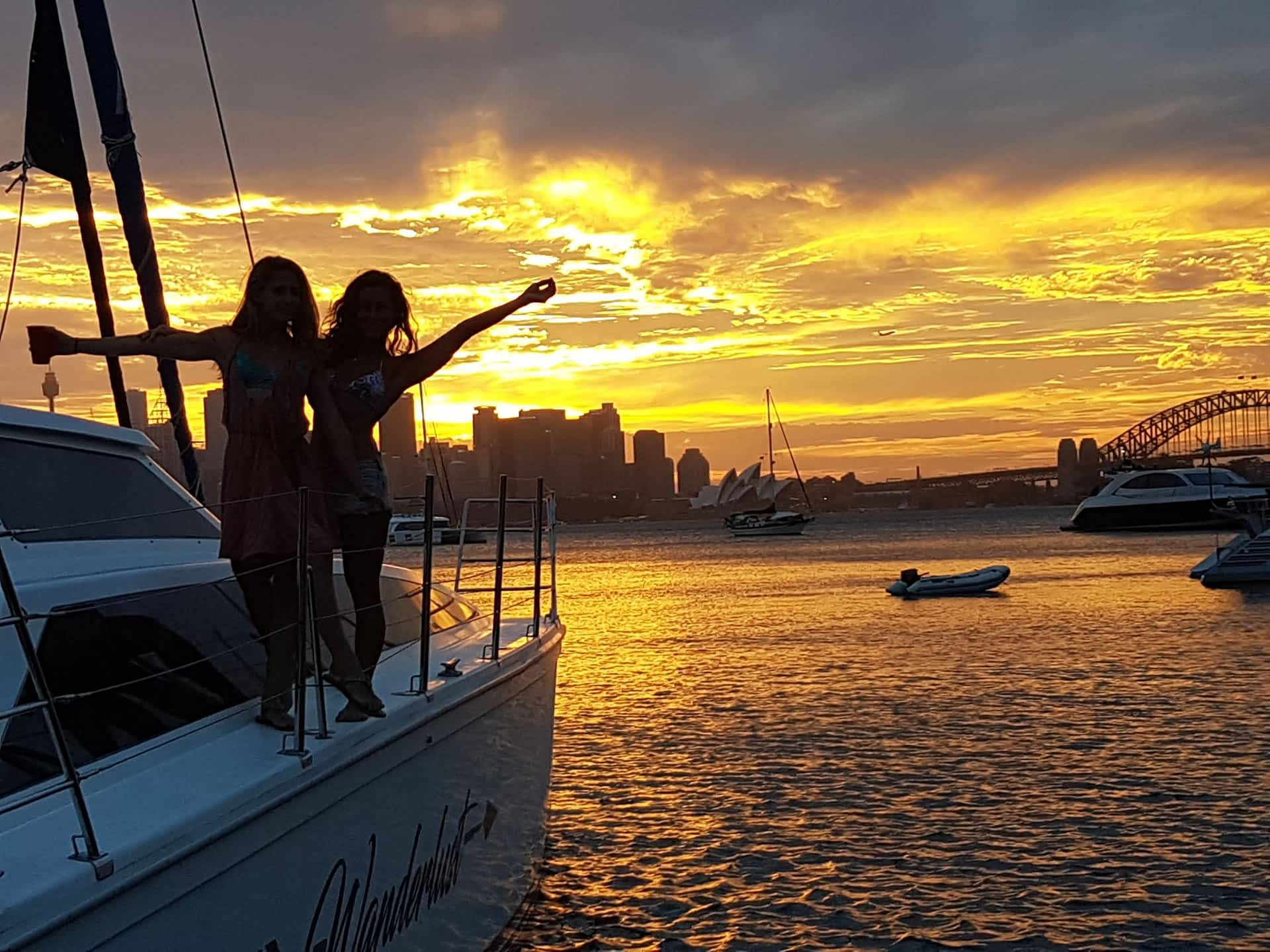 Sydney Topless Waitresses Boat Party