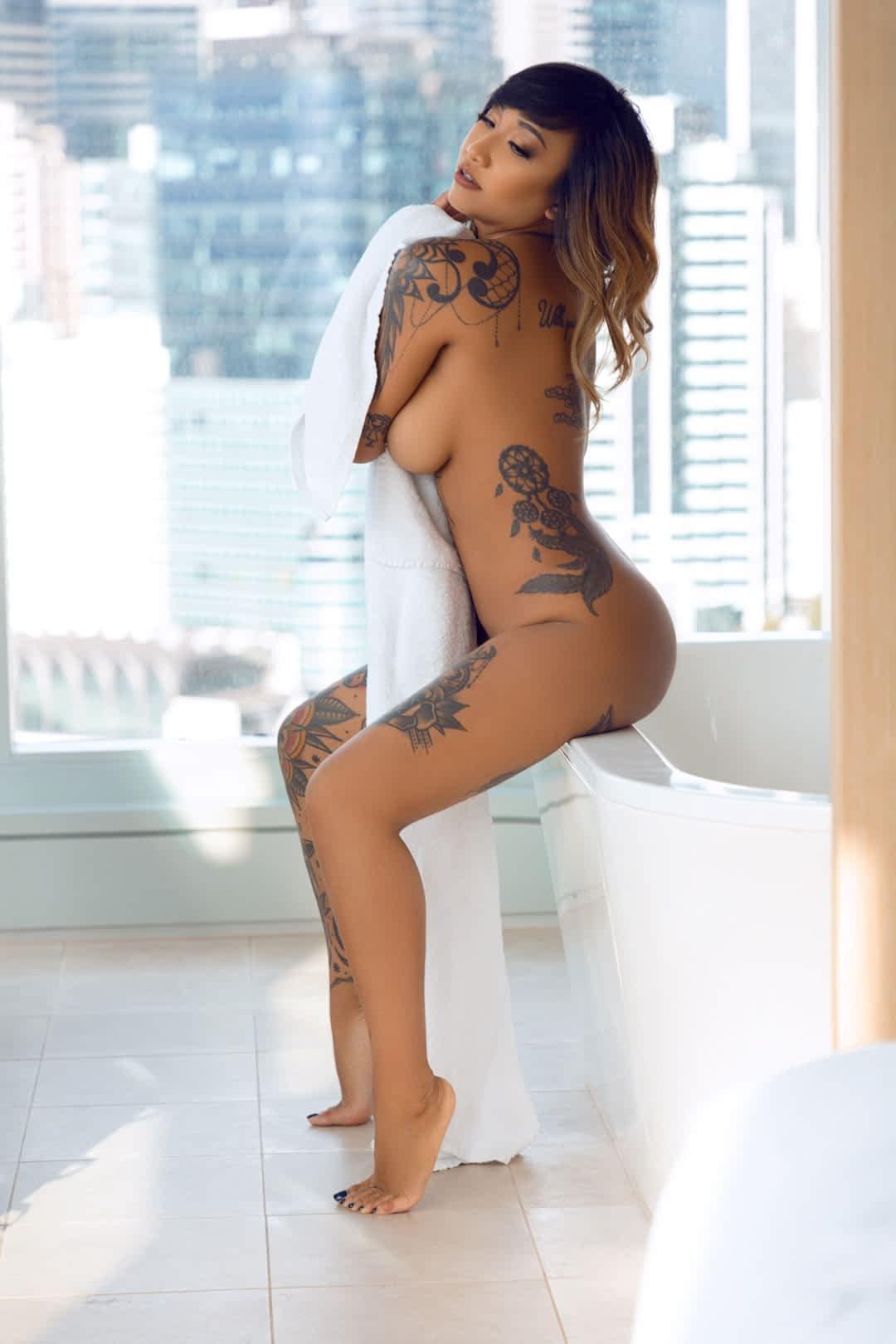 Sydney Topless Waitresses Scarlett Black Lingerie
